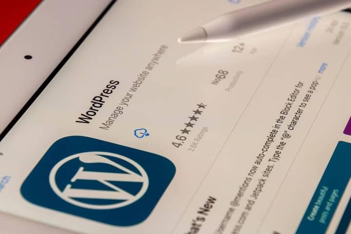 WordPress alkalmazása