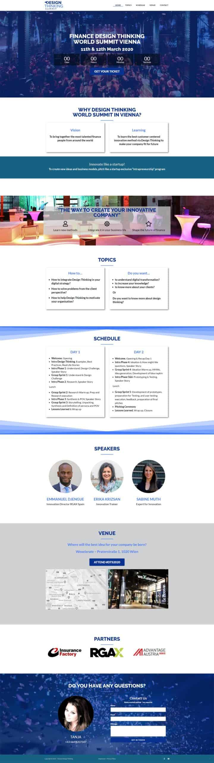 financedesignthinking.com portfolio